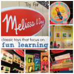 classic toys with an educational spin: melissa & doug at toy fair 2013