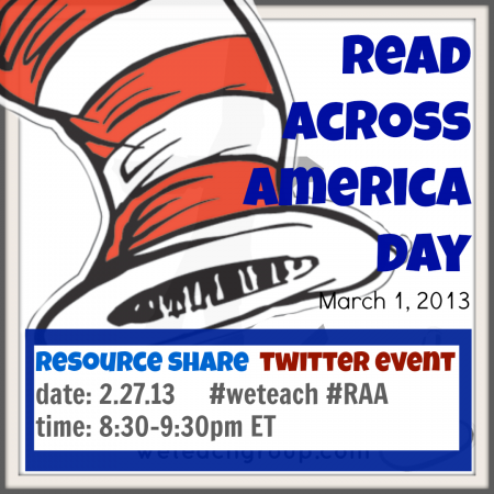 read across america week: resources GALORE!