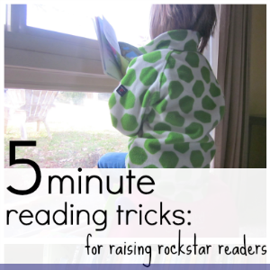 5 min reading tricks for raising rockstar readers button