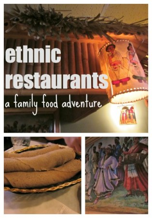 ethnic restaurant family food adventure