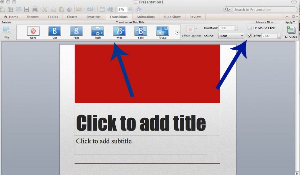 power point transitions