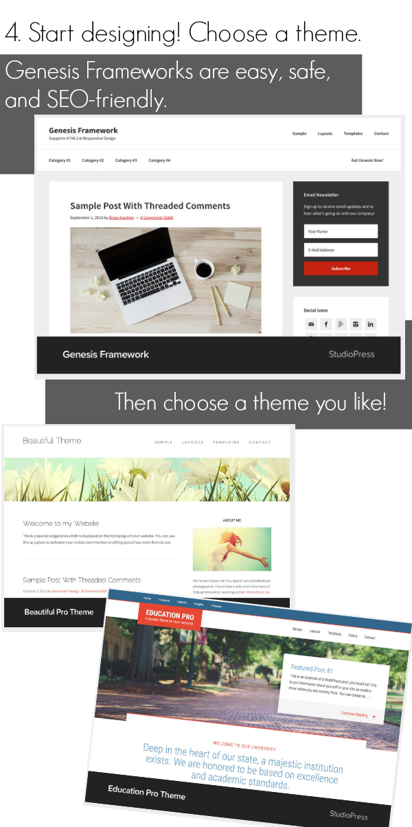 be a blogstar | start a blog | teachmama.com theme