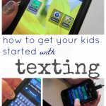 how to get your kids started with texting: texting 101