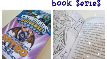 high-interest reading: the skylanders book series