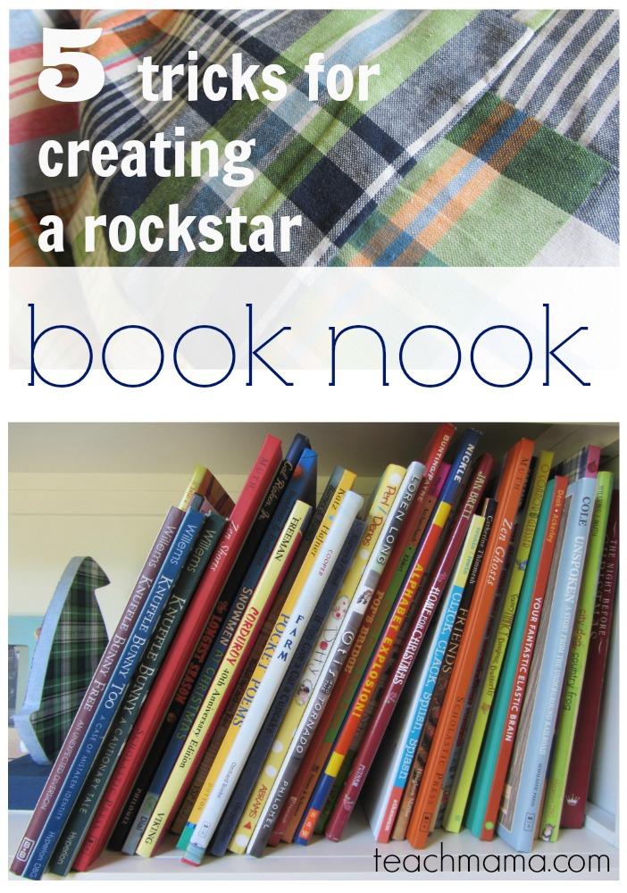 5 tricks for creating a rockstar book nook