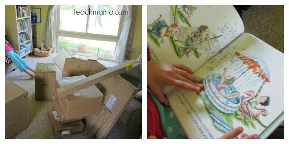 how to make a kid friendly book nook