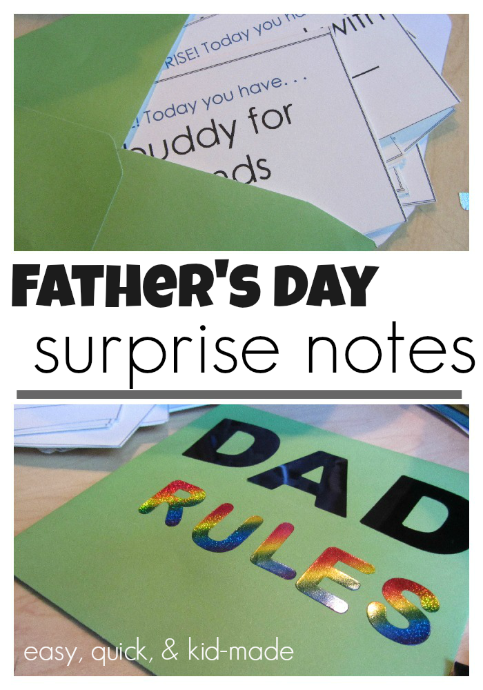 fathers day daily surprise cards