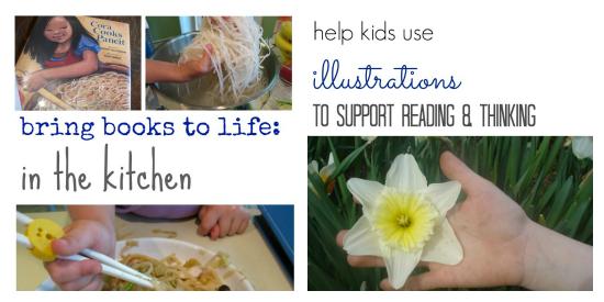 top ten ways to talk to kids about books illustrat