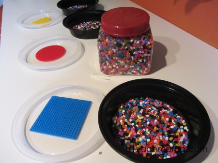 tabletop surprises perler beads
