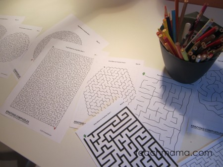 tabletop surprises mazes