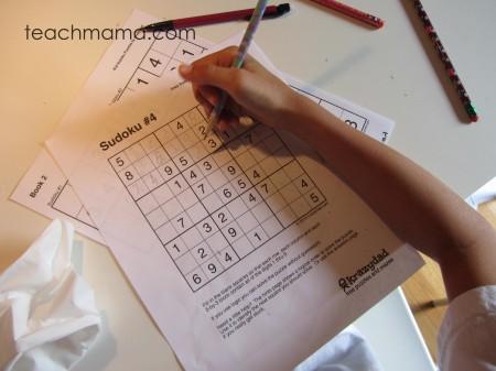 sudoku  tabletop surprises