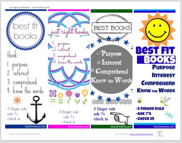 best fit bookmarks | teachmama.com