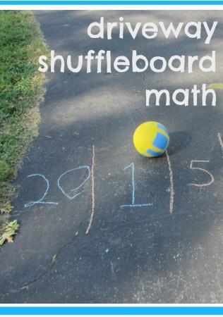 driveway shuffleboard math