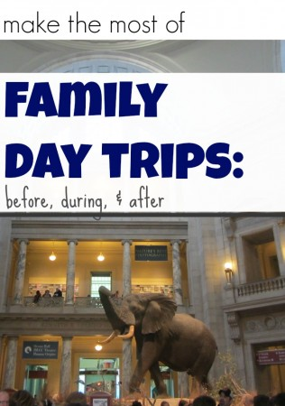 how to make the most of a day trip to museum, farm, or amusement park