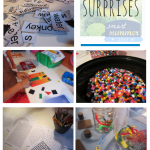 tabletop surprises: simple, summer learning fun