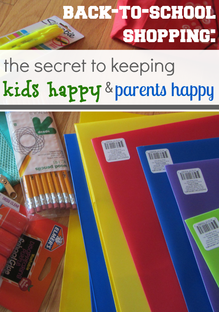back to school : happy kids, happy parents