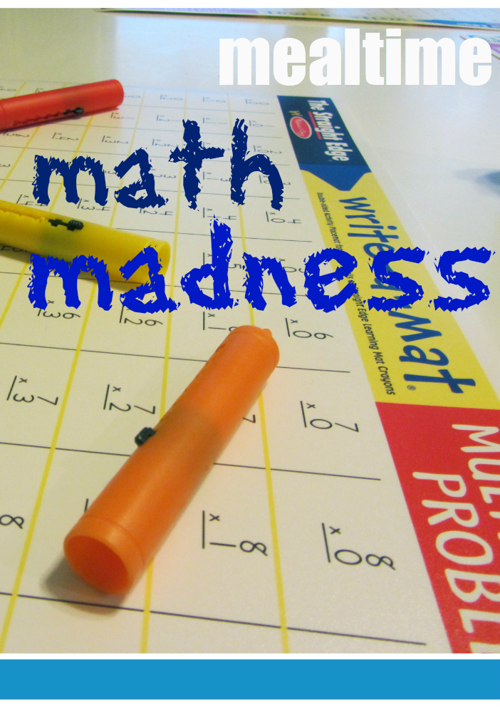 tabletop surprises mealtime math madness