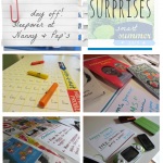 independent learning, poetry and play: tabletop surprises