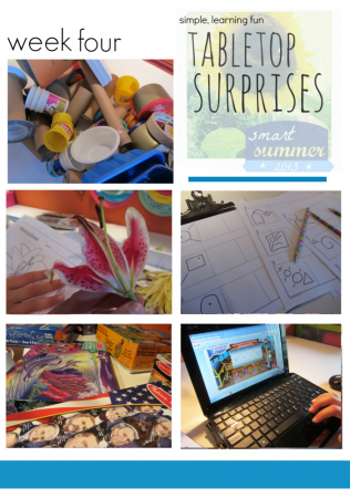 creative, hands on learning for kids | tabletop surprises