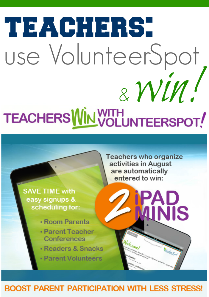 teachers ipad mini volunteerspot