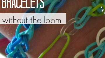 how to make rainbow loom bracelets without the loom