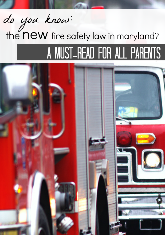 new fire safety law in maryland