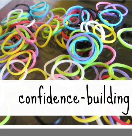rainbow loom confidence building teachmama.com