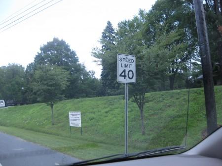 street sign math