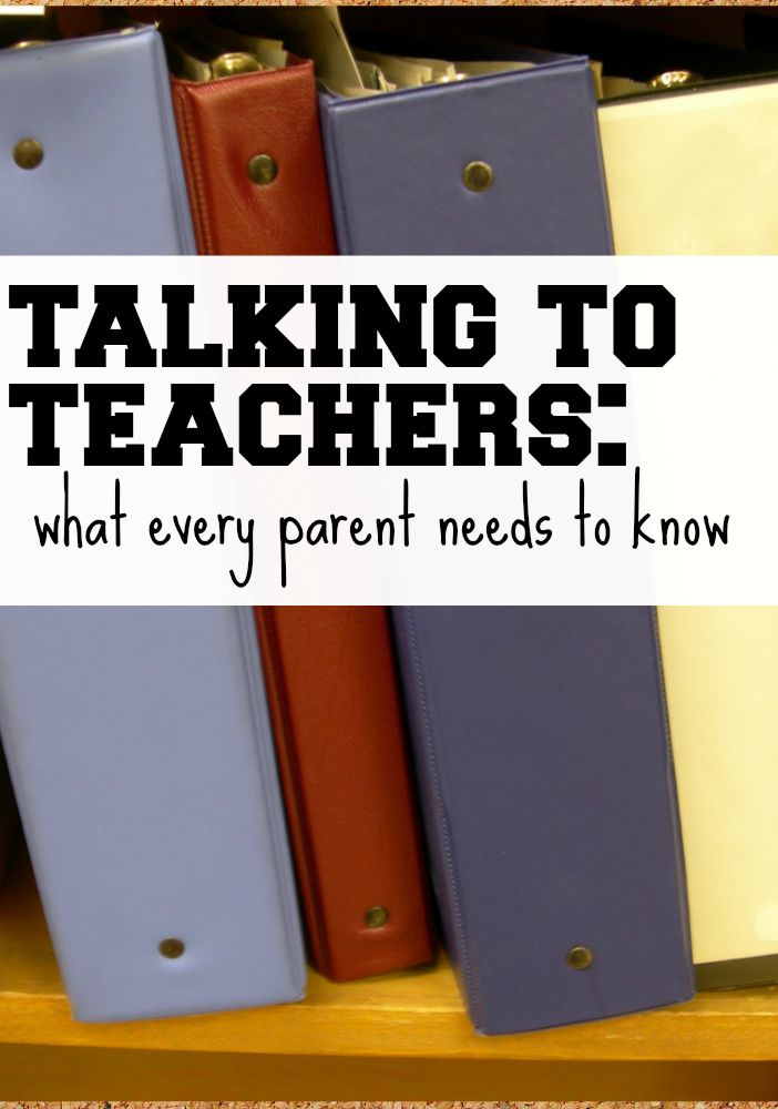 when talking to teachers 5 tips for parents