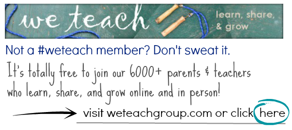 we teach member button