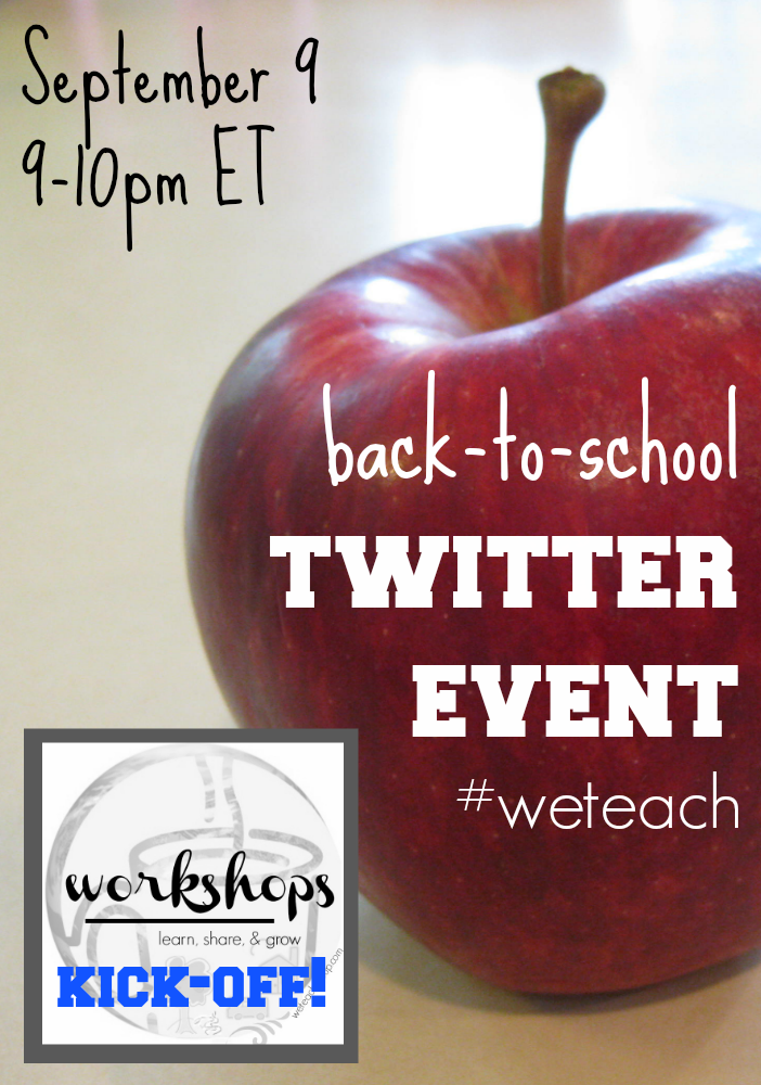 #weteach sept twitter promo
