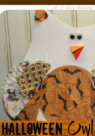 halloween owl: fun fall craft for kids