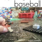 lego baseball: creative math game for kids, by kids