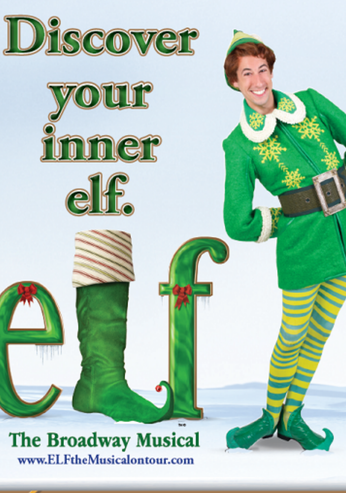 elf the broadway musical lyric opera house