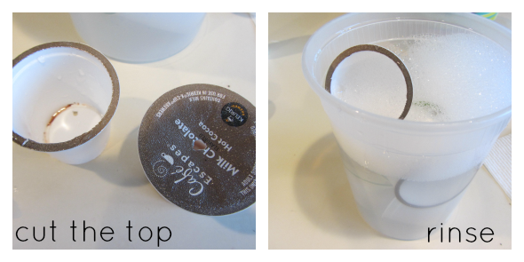 kcup hot chocolate cleaning