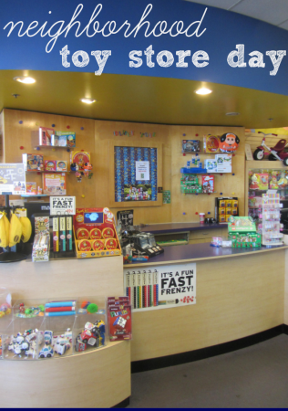neighborhood toy store day: kick off holiday shopping locally! *sponsored*