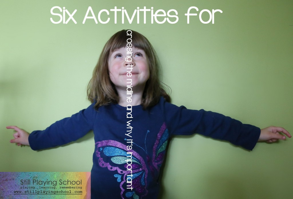6 activiies for crossing the midline