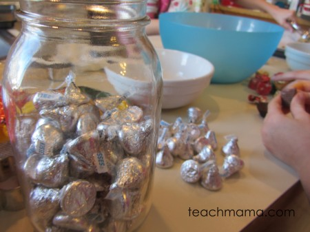 holiday baking day cookies -