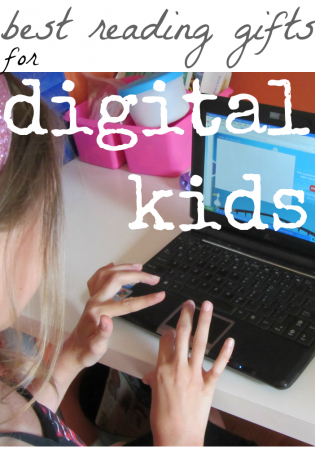 best reading gifts for digital kids