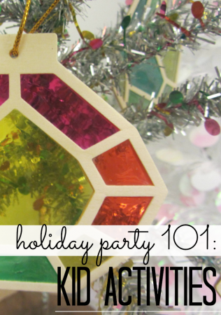 holiday party kid activities: 3 secrets to success