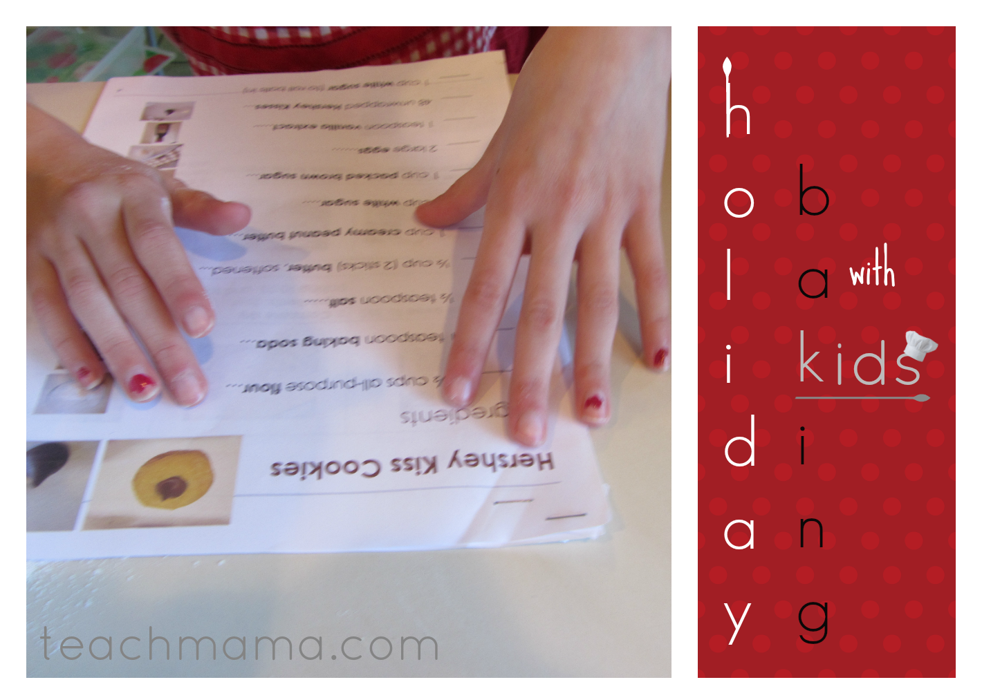 holiday baking with kids eBook teachmama.com