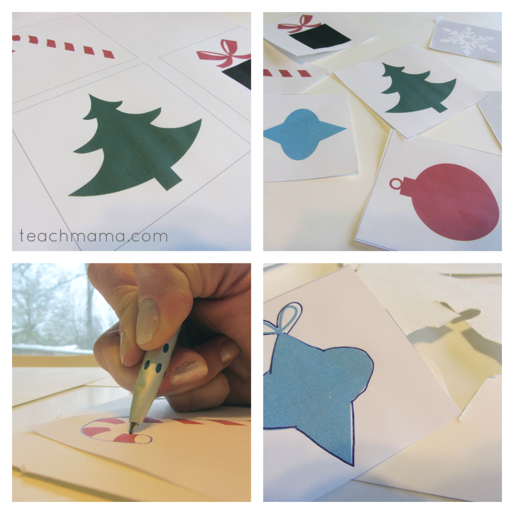 holiday stencils balloon painting