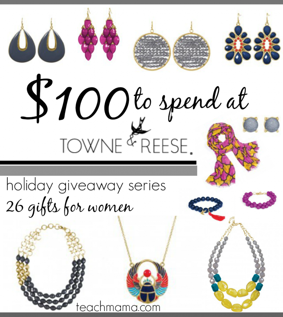 jewelry giveaway from towne and reese cover