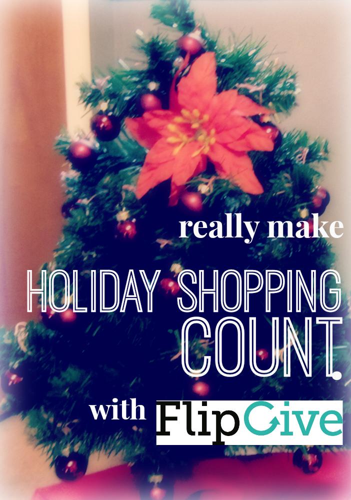 make holiday shopping count