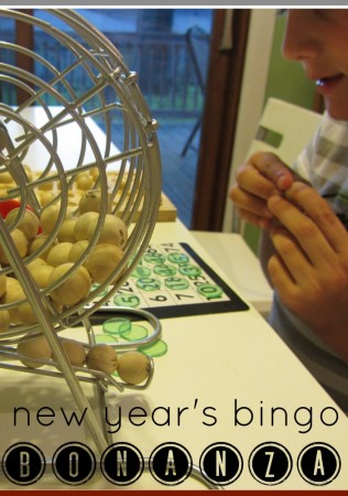 new year's eve bingo bonanza