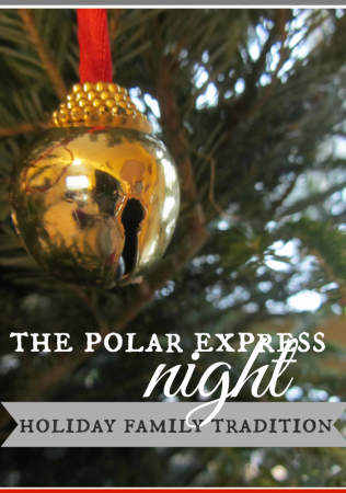 the polar express night: a holiday family tradition