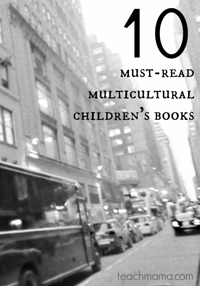 10 must-read multicultural children's books | recommendations for younger and older readers @teachmama