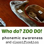phonemic awareness and classification with zoo magazine pictures