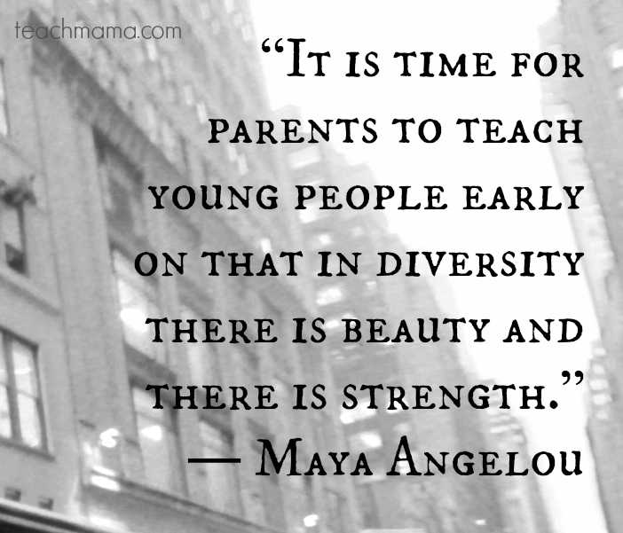 diversity quote maya angelou |  teachmama.com @teachmama