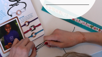 reading informational text and crafting: easy, beautiful jewelry-making